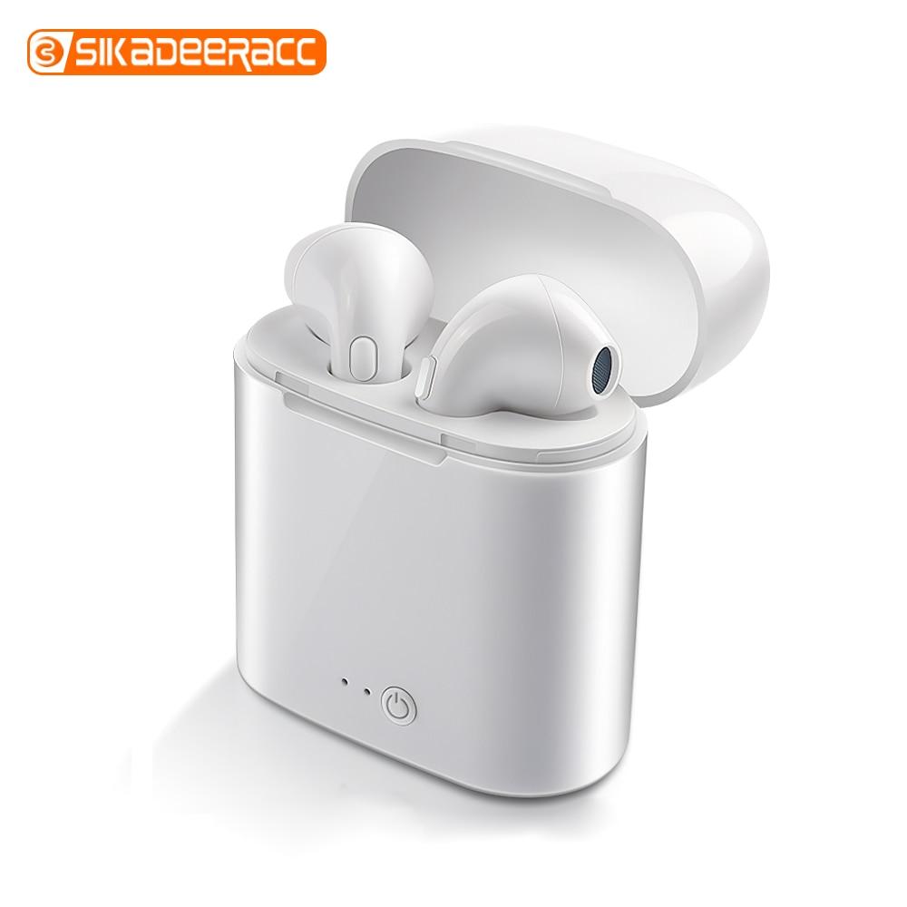 I7s TWS Wireless Bluetooth Earphone Mini Handsfree Charging Box Sport Earbuds Smartphone In-ear Headset For IPhone Xiaomi Huawei
