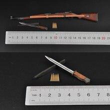 В наличии 1/6 весы аксессуары модель оружия немецкой армии 98k