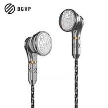 BGVP DX5 In Ear Earphone 2.5mm/3.5mm/4.4mm To Mmcx Balance Metal Wired Earbuds M