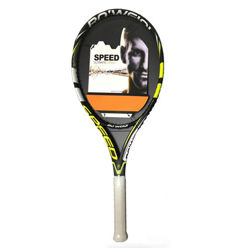 1 Piece Men Professional Carbon Tennis Racket Grip Size 2# 4 1/4 All Carbon Coaches Recommend Advanced Padel Racket With Bag
