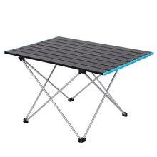 Mesa para acampar al aire libre, barbacoa portátil, mesa plegable para Picnic, mesas de Turismo, senderismo, escritorio plegable, muebles de aluminio para pesca y Camping