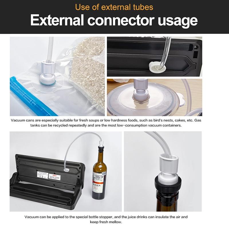 Drink - Best Portable Food Vacuum Sealer With Free bags 10pcs Sealing Machine Packaging Machine