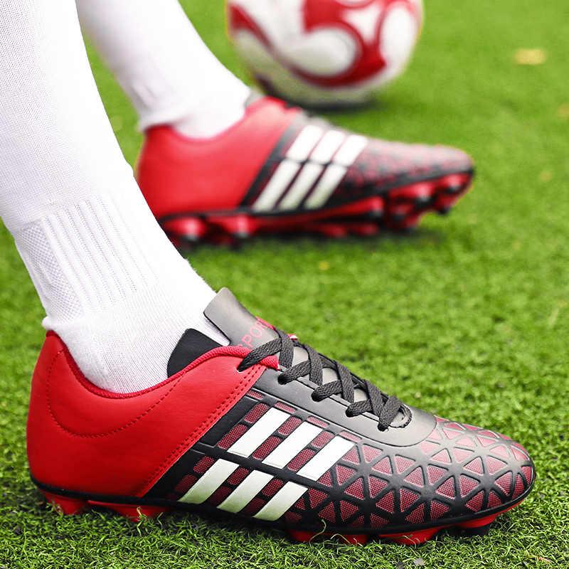 เด็กหญิงรองเท้าฟุตบอลรองเท้าฟุตบอลฟุตบอลรองเท้าฟุตบอลฟุตซอลรองเท้าฟุตบอลแบบดั้งเดิมสบายกันน้ำ