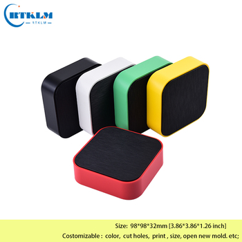 High quality Plastic box for electronic project abs housing instrument case diy junction box small desktop box 98*98*32mm free shipping 18pcs diy plastic box abs plastic enclosure housing electronic project box desktop wire junction box 60 58 28mm