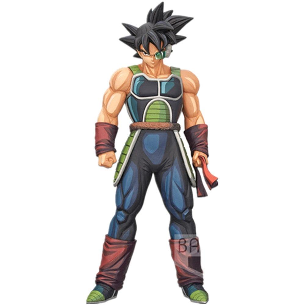 Dragon Ball Z Grandista Manga Burdock PVC Action Figures 250mm Anime Dragon Ball Super Burdock Bardock Figurine DBZ Toy