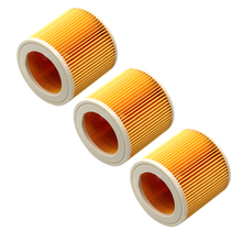 3*Filter Elements For Dewalt D27900 D27901 D27902 D27902M Hoover 141 Karcher A1000 A1001