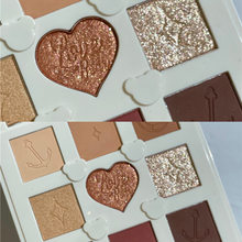 New Arrival Eye Shadow  9 Color Palette Matte Shimmer Glitter Pigment Nude and Natural Eye Makeup Women Beauty Cosmetic