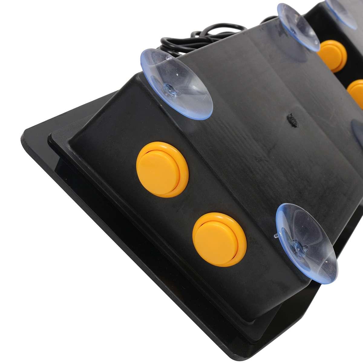 Double bâton d'arcade jeu vidéo manette contrôleur Console PC USB 2 joueurs ordinateur Machine de jeu vidéo jeu accessoires de jeu - 5
