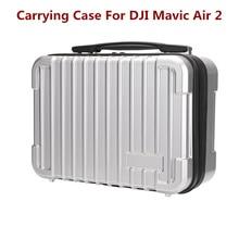 Mavic الهواء 2S الطائرة بدون طيار هارد شل المحمولة حقيبة سفر تحمل أجزاء الملحقات مقاوم للماء حقيبة التخزين سعة كبيرة ل AIR2