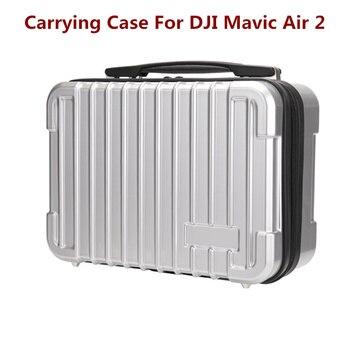 Para DJI Mavic Air 2 Drone carcasa dura portátil bolsa de viaje estuche de transporte accesorios bolsa de almacenamiento impermeable de gran capacidad