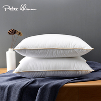 Peter Khanun 100% Goose Down Pillows Neck Pillows For Sleeping Bed Pillows 100% Cotton Shell Filled with 100% Goose Down P10