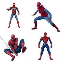 2019 17cm Marvel Toys Avengers Infinite War Spiderman PVC Action Figure Superhero Figures Spider-man Collectible Model Dolls Toy недорого