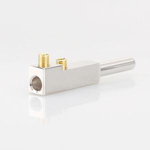 Image 3 - Viborg ve503r + vf503r 99.99% puro cobre ródio transparente chapeado schuko ue alta fidelidade cabo de alimentação áudio extensão adaptador plug