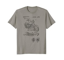Camiseta clássico do presente da moto da cópia 1999 da patente do vintage (1)