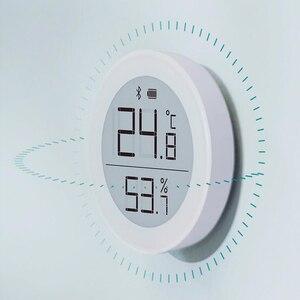 Image 2 - Sensor de temperatura Youpin Cleargrass Bluetooth Hu mi, almacenamiento de datos, pantalla de tinta e link, termómetro, medidor de humedad, aplicación Mi