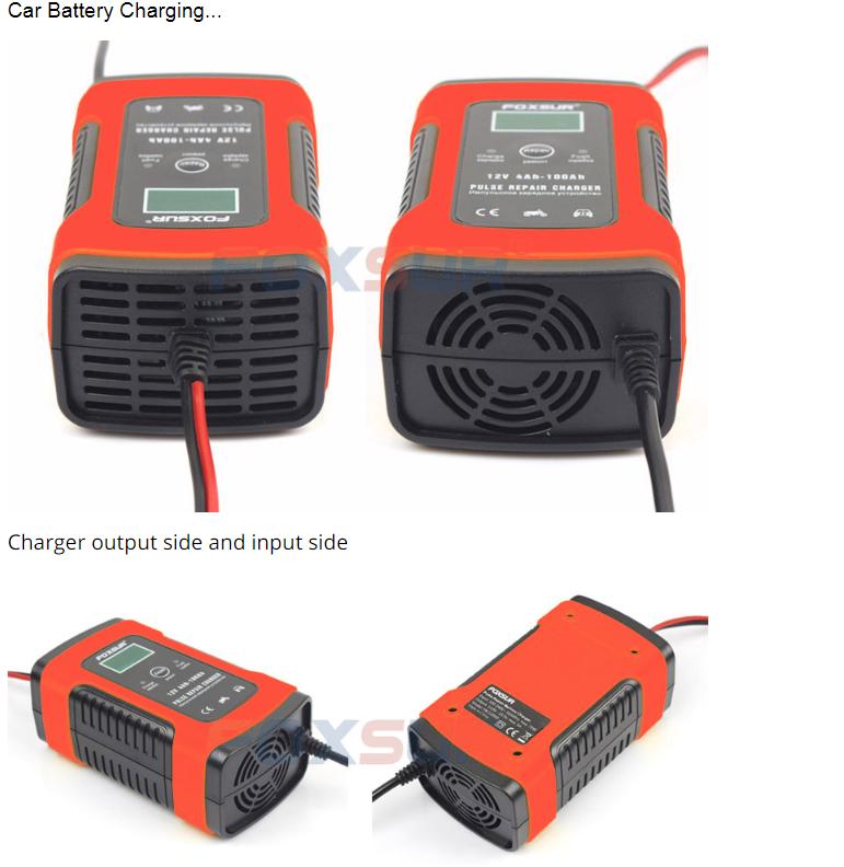 Зарядное устройство для аккумулятора мотоцикла автомобиля 110