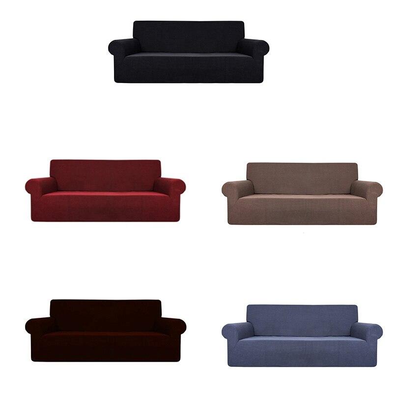 Solid Color Waterproof Sofa Cushion Sofa Cover Anti-Slip Pet Pad Diaper Four Seasons Sofa Towel Nordic Universal