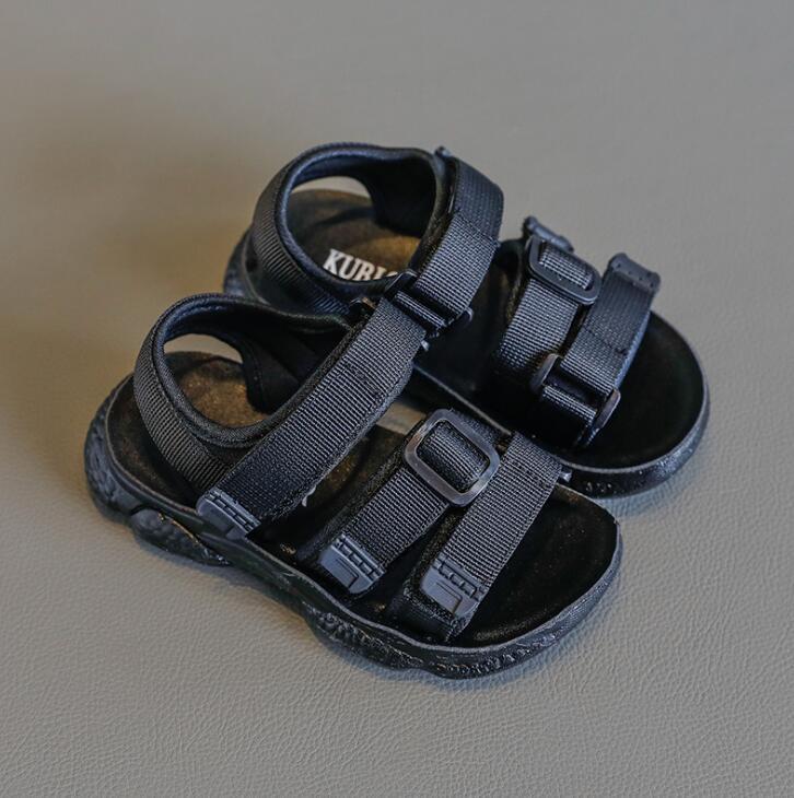 New Summer Children Sandals For Girls Boys Soft Casual Girl Sport Shoes Kids Beach Sandals Baby Little Big Kids Sandals