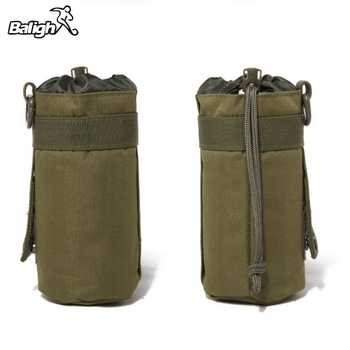 500ML Water Bottle Pouch Tactical Molle Kettle Pouch Pocket Water Bottle Holder Army Gear Bag TX005 camping sports water bag new outdoor tactical military molle system bottle bag kettle pouch holder