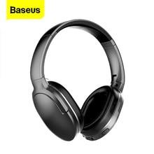 Baseus d02 pro fones de ouvido sem fio bluetooth flexível ajustável esporte fone ouvido buds cabeça do telefone para iphone