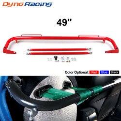 Barra para cinturón de seguridad de carrera de acero inoxidable de 49