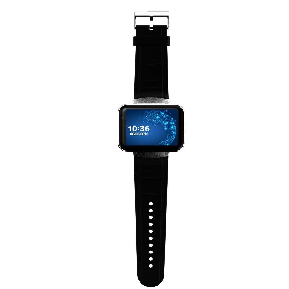 Smartch DM98 montre intelligente Android grand écran 320*240 MTK double noyau 1.2G 900mAh avec WIFI 3G GPS Smartwatch pour Android IOS - 3