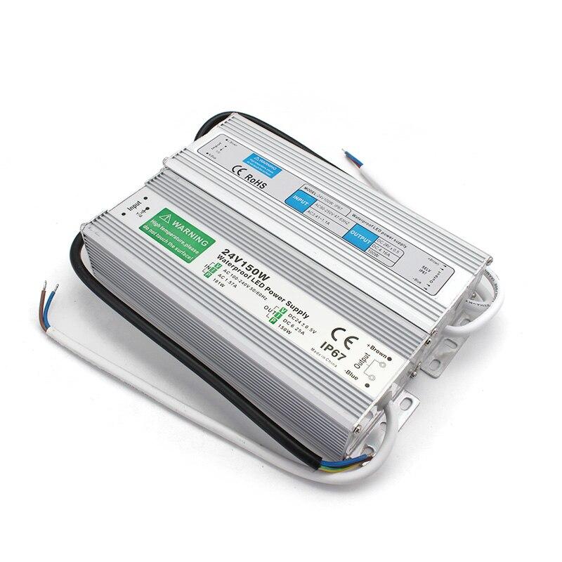 Beleuchtung Transformator IP67 Led-treiber Wasserdichte AC DC 12V 24V Netzteil 20W 30W 36W 50W 120W 150W LED Transformator 220V ZU 12V