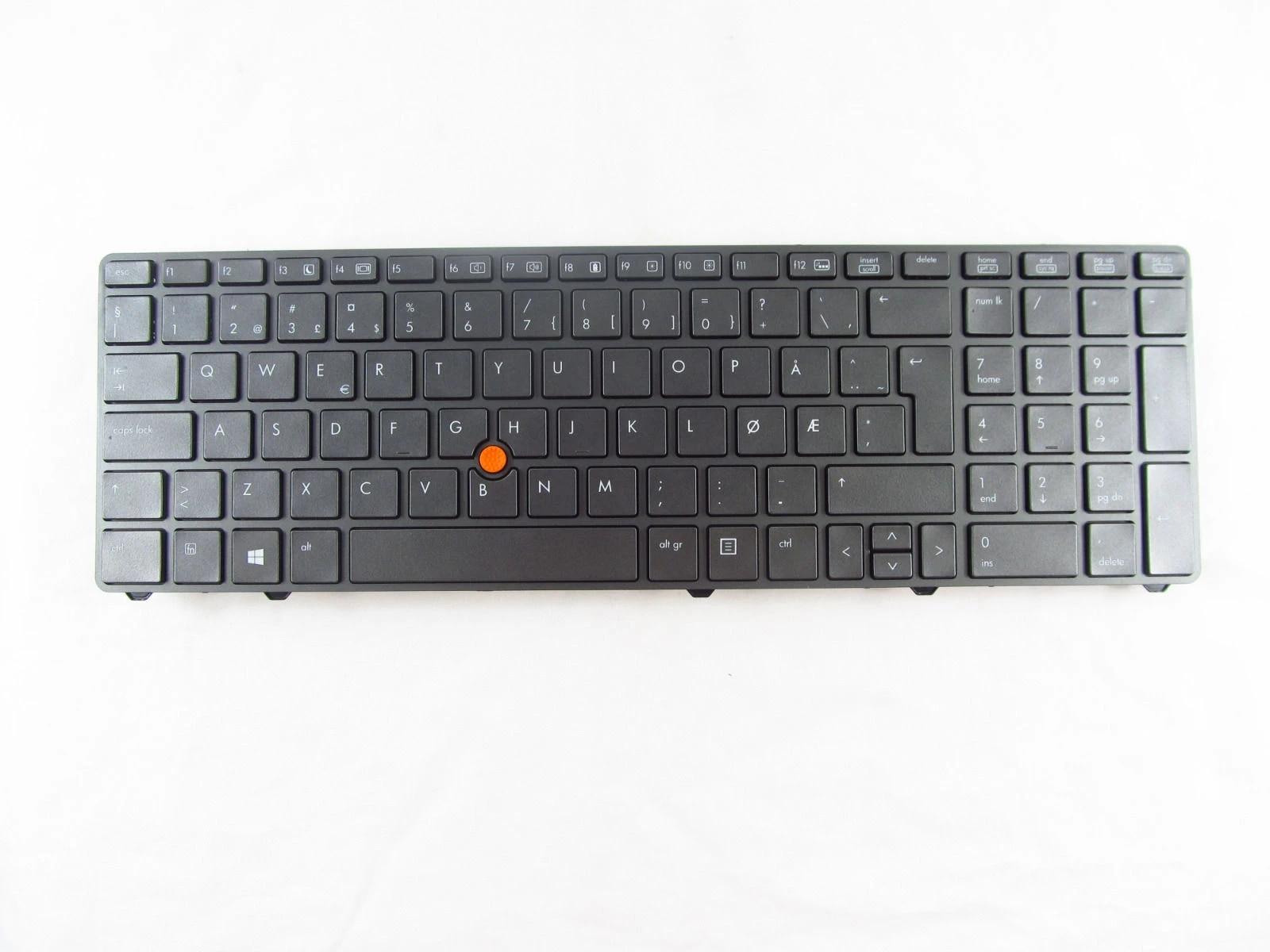 New for HP Elitebook 8760w 8770w Keyboard German Deutsch Tastatur Backlit