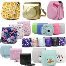 Fuji Fujifilm Instax Mini 9 Mini 8 Camera Bag Instant Camera Accessories Shoulder Bag Case With Strap For Instax Mini 9 Min8 8+ цена 2017