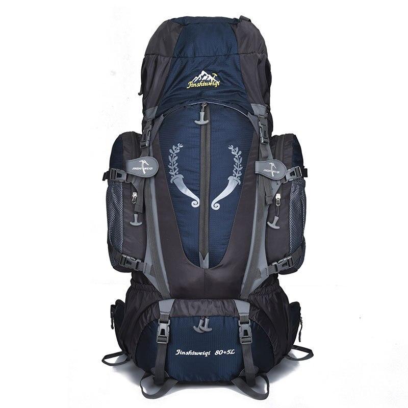 80L camping en plein air sac à dos randonnée escalade Nylon sac Superlight Sport voyage sacs à dos Trekking sac à dos équitation sacs à dos