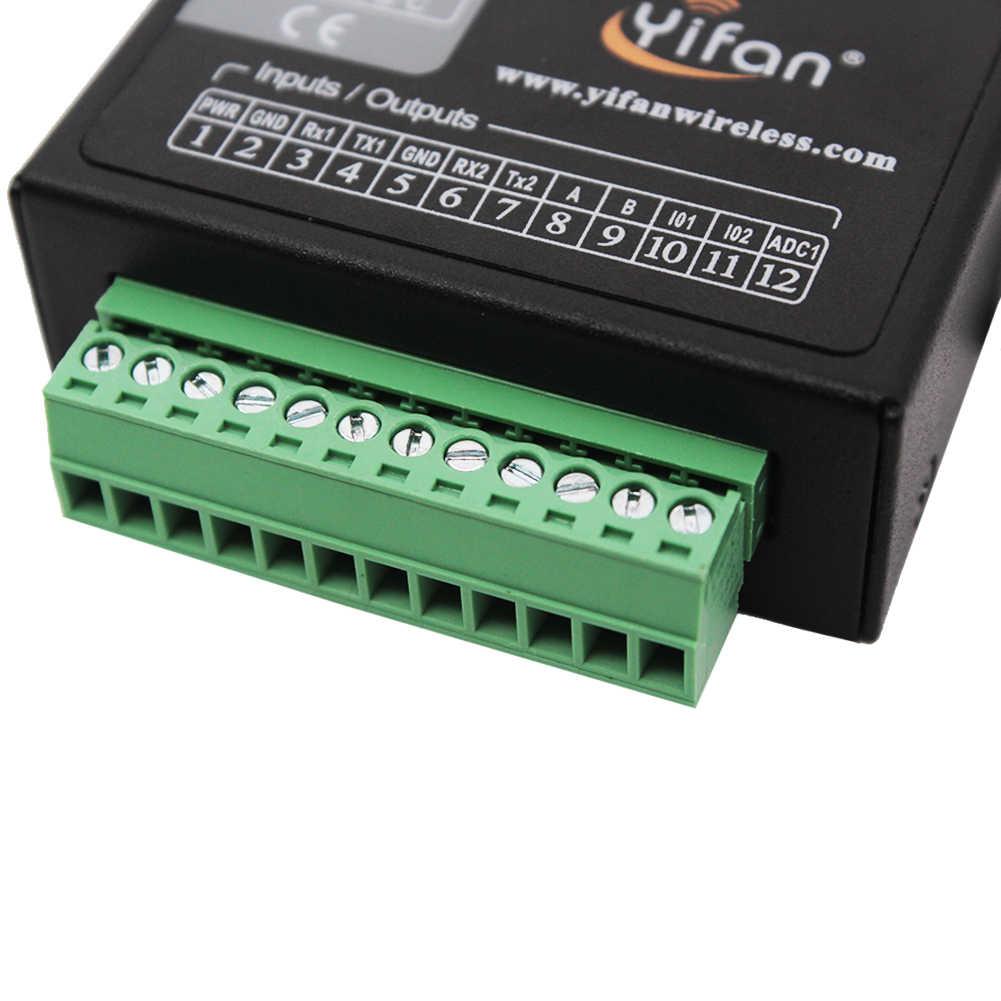 M260 TCP/IP Modbus промышленный 3g 4G LTE сотовый модем с двумя последовательными портами RS232/RS485 для AMR SCADA