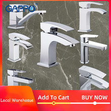 GAPPO Official Spain Brazil Warehouse basin faucet water tap bathroom mixer waterfall faucets taps wash mixer