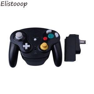 Image 2 - GameCube 무선 게임 패드 용 Wii 용 NGC 용 GameCube 용 Nintendo 용 2.4GHz Bluetooth 게임 컨트롤러 조이스틱
