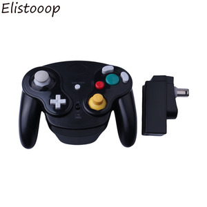 Image 2 - Para gamecube gamepad sem fio 2.4 ghz bluetooth controlador de jogo joystick para nintendo para gamecube para ngc para wii