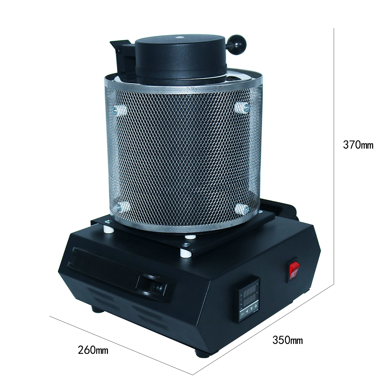 de forno de fusão capacidade de aquecimento