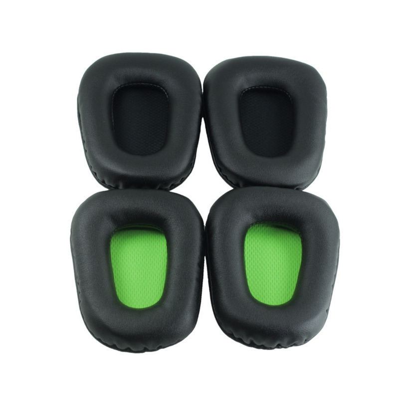 Soft Replacement Ear Pads For Razer Electra Headphones Memory Foam UP Leather Earpads For Added Comfort And Sound Quality EW#