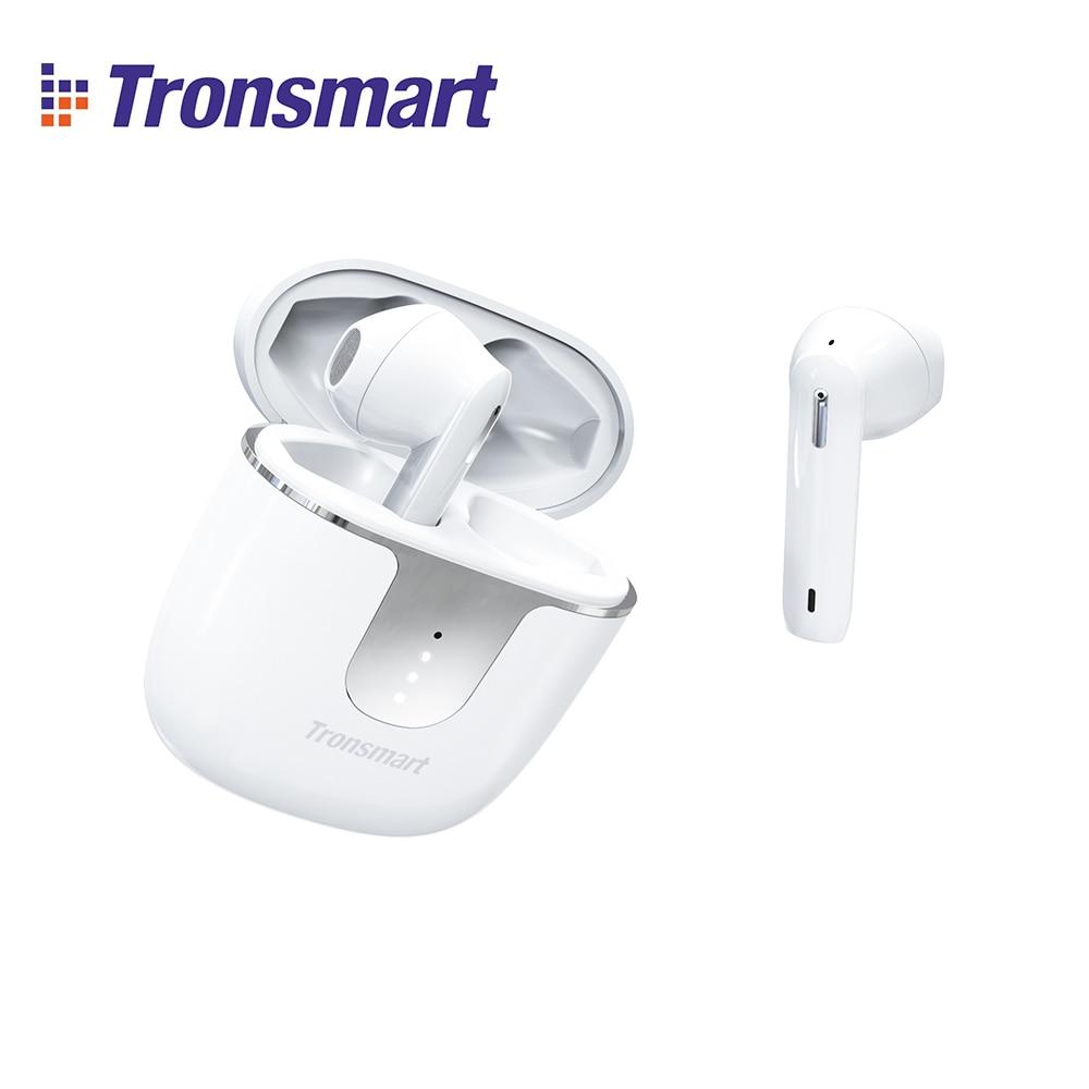 [Op Voorraad] Originele Tronsmart Onyx Ace Tws Bluetooth 5.0 Oortelefoon Met Qualcommchip Diepe Bas Waterdichte Draadloze Oortelefoon