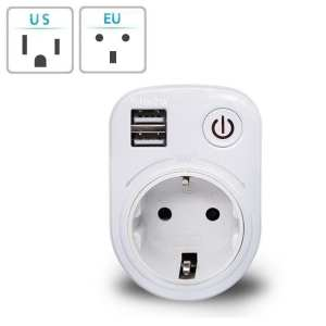 Adapter Charger Socket USB Power Wall For Samsung Port And UK Travel Plugs Wall Charger Adapter Charging Adapter