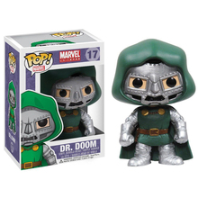 Funko POP Marvel Bobble фигурка, доктор Doom фигурка Коллекционная модель игрушки