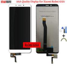 5.45 Original IPS LCD For Xiaomi Redmi 6 6A Display Screen Replacement 1440*720 Touch