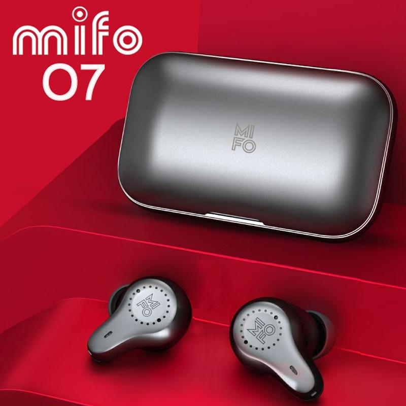Mifo O7 Dual Balanced Aptx True Wireless Earbuds Noise Reduction TWS V5 0 Bluetooth Earphones Sport Waterproof Mini with 4 Mics