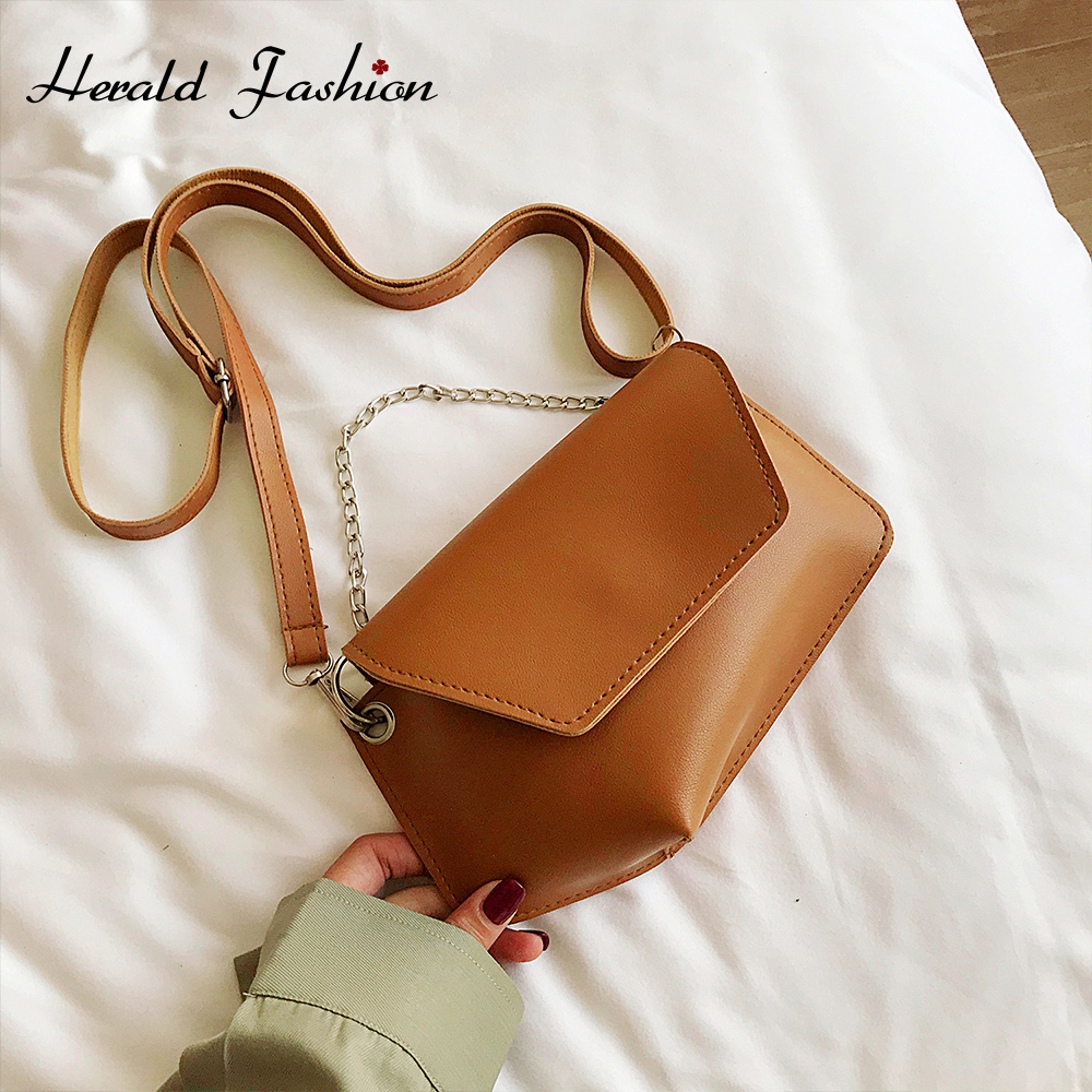 2020 Fashion Chain Women's Crossbody Bags Handbag Vintage Shoulder Messenger Bag Ladies Clutch Casual Totes Female Purse