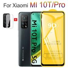 Ochraniacz ekranu i folia na aparat do Xiaomi Mi 10 T Pro, szkło hartowane ochronne Mi-10T-Lite Mi 10 T obudowa чехол Mi10T Mi10TPro Mi10 T szkło