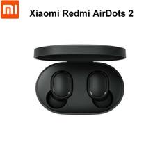 Быстрая доставка Оригинальный Xiaomi Redmi Airdots TWS Bluetooth 5,0 беспроводные наушники стерео бас наушники