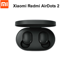 Xiaomi auriculares Redmi Airdots 2 TWS, auriculares inalámbricos con Bluetooth 5,0, auriculares estéreo de graves, envío rápido
