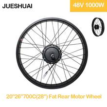 48v 1000w Electric Bike Fat Motor Wheel High Powerful Rear Hub  Accessorise Parts for 20/26*4.0