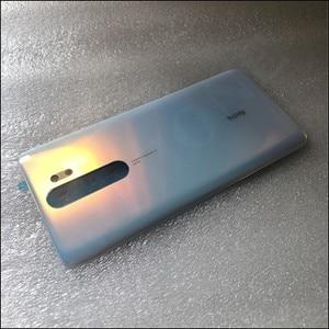 Image 3 - Orijinal 4D cam telefon konut Case pil kapağı için Xiaomi Redmi not 8 Pro yedek parça pil arka kapak kapı ücretsiz kargo