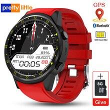 F1スマート腕時計メンズsimカードスポーツスマートウォッチgpsサポート歩数計のbluetooth 4.0カメラ腕時計女性iosのandroid携帯
