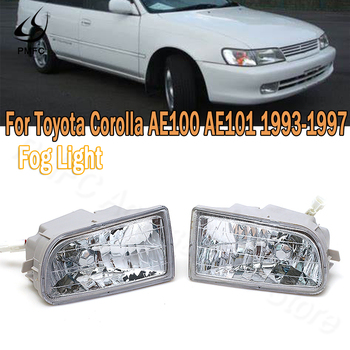 PMFC Fog Light Front Bumper Fog Lamp Fog Lamp Assembly Car Stying For Toyota Corolla AE100 AE101 1993 1994 1995-1997 A1649060451 image