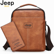 JEEP BULUO Men Messenger Bags Famous Brand Crossbody Shoulder Bag For iPad Hanbags Tote Fashion Casual office Work Male Bags New jeep buluo brand high quality pu leather cross body messenger bag for man ipad famous men shoulder bag casual business tote bags